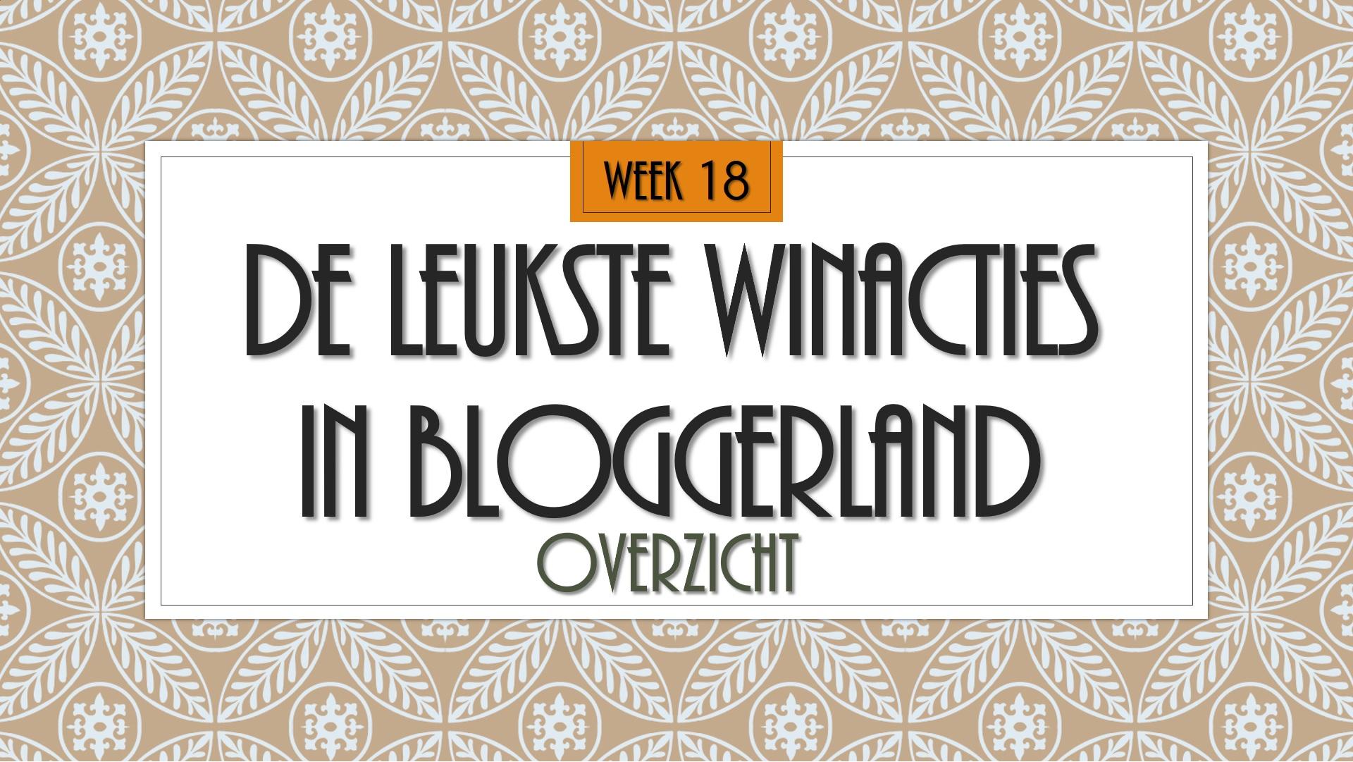 winacties wk 18