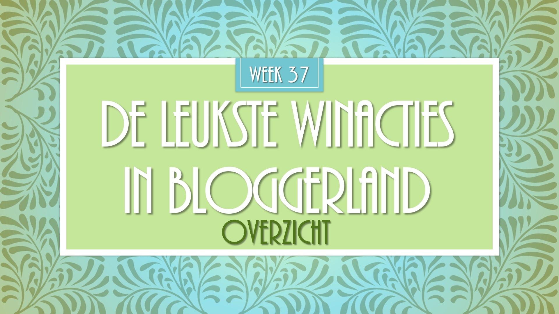 winactie week 37