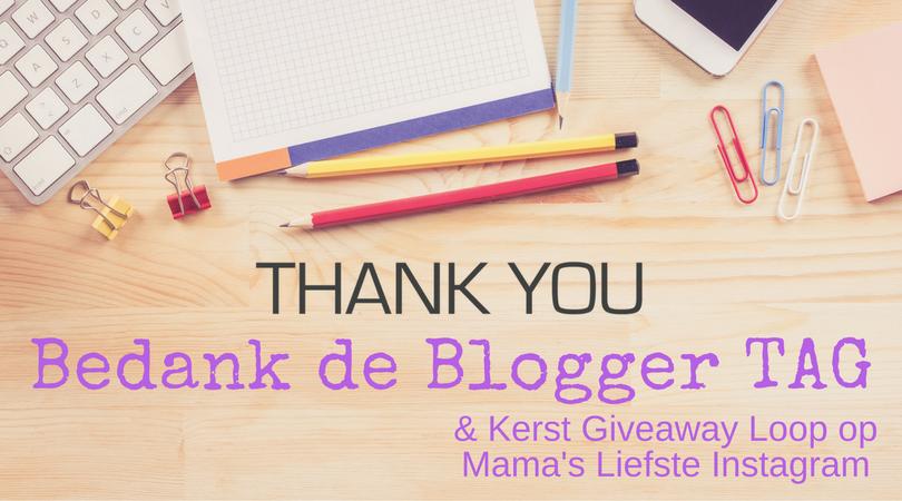 Bedank de Blogger