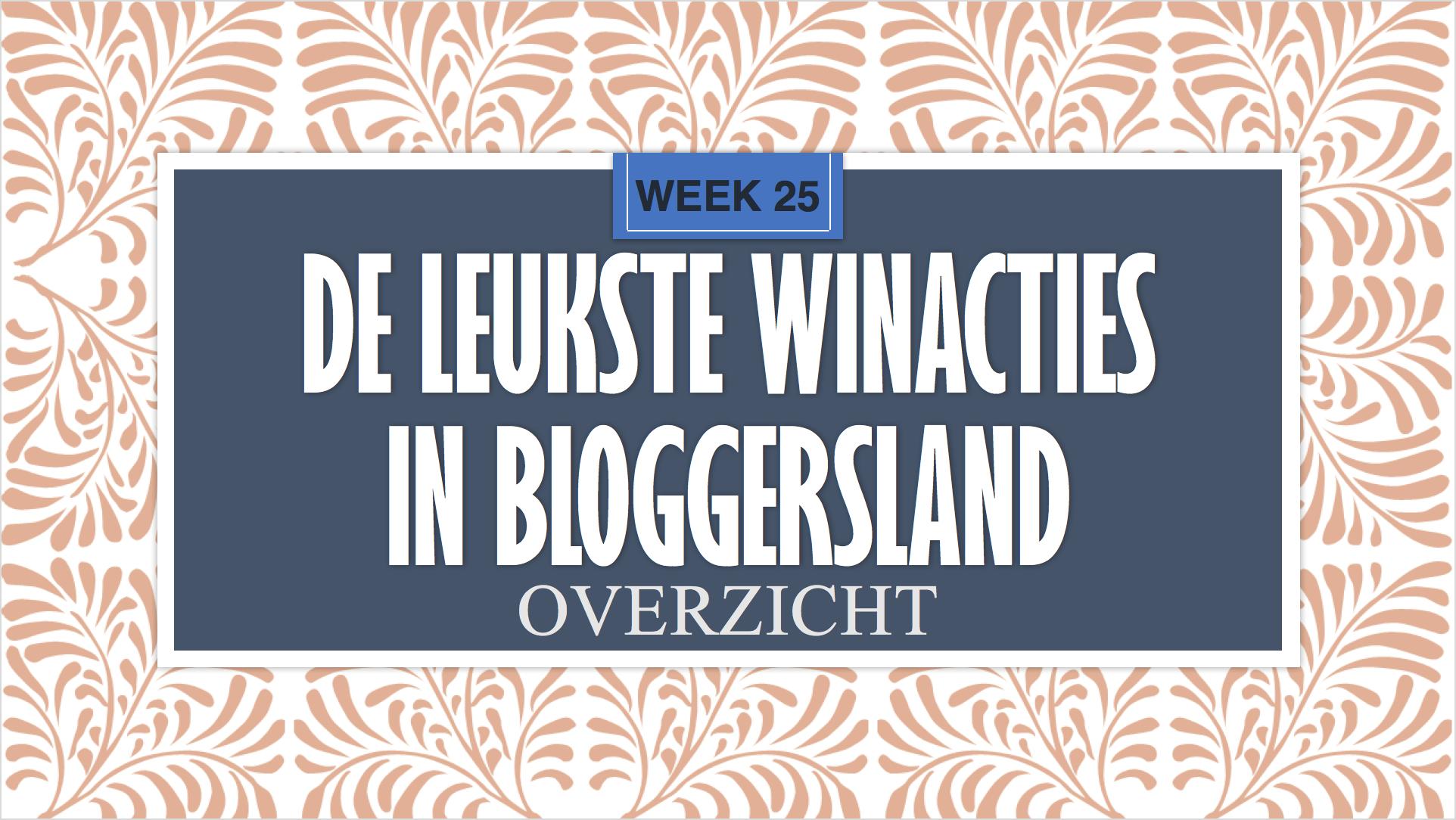 Winacties week 26
