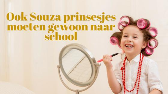 Ook Souza prinsesjes moeten gewoon naar school
