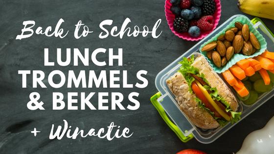 Back to School - Lunchtrommels en bekers