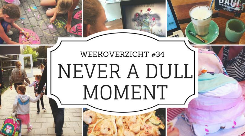 Never a Dull Moment #34 - weekoverzicht