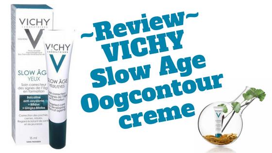 VICHY Slow Age Oogcontour creme