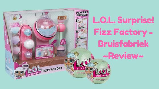 L.O.L. Surprise! Fizz Factory - Bruisfabriek