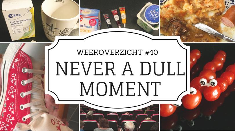 weekoverzicht Never a Dull Moment #40