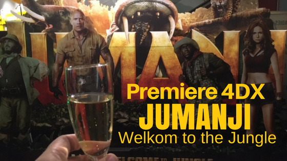 Premiere 4DX Jumaji Welkom to the jungle