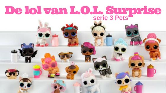 De lol van LOL Surprise 3 Pets
