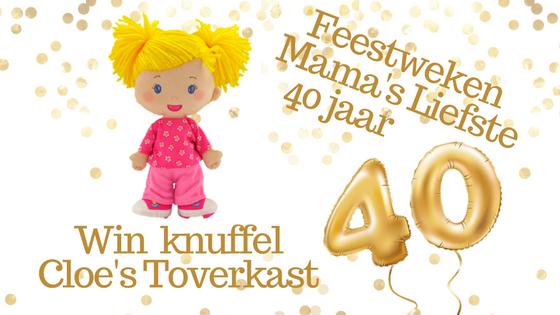 Feestweken Mama's liefste 40 jaar Kidiyo
