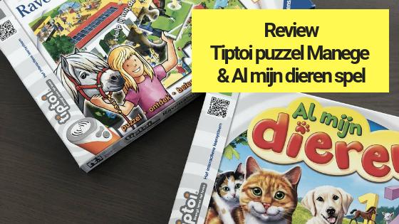 Review_ Tiptoi puzzel Manege en Al mijn dieren spel