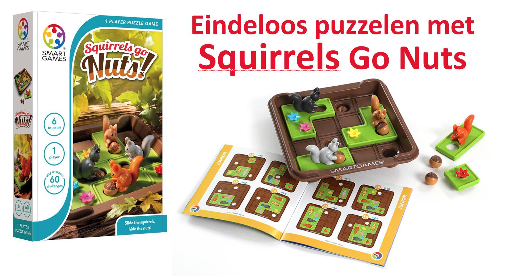 Eindeloos puzzelen met Squirrels Go Nuts