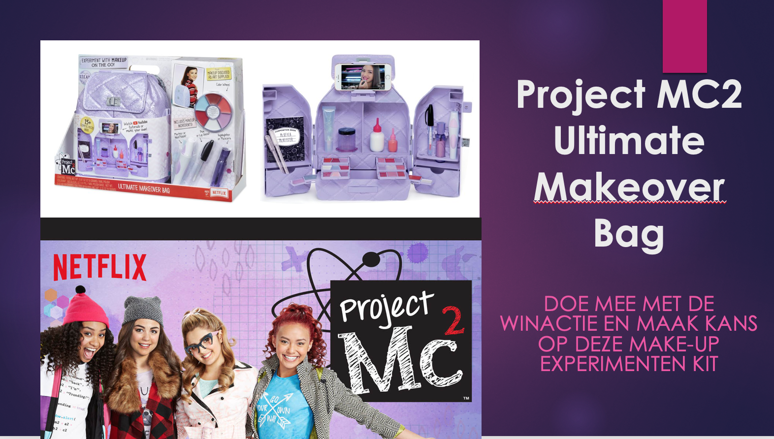 MC2 Project Ultimate Makeover Bag