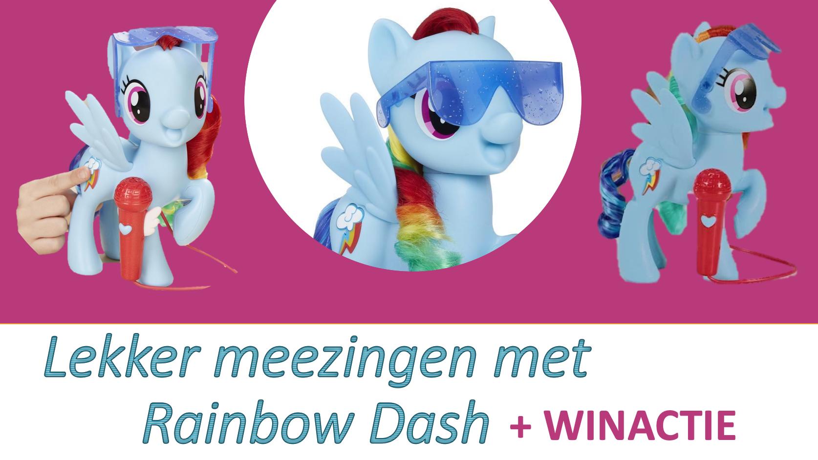 Lekker mee zingen met Rainbow Dash + winactie