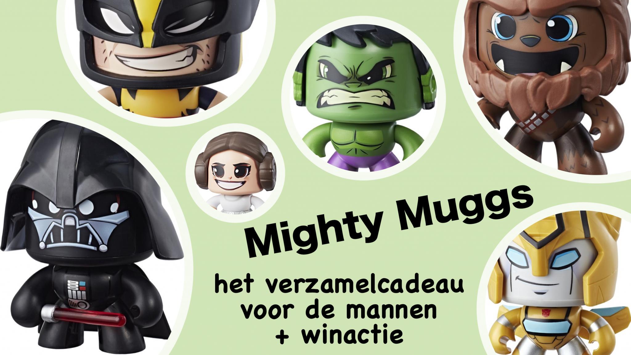 Mighty Muggs - het verzamelcadeau voor de mannen + winactie