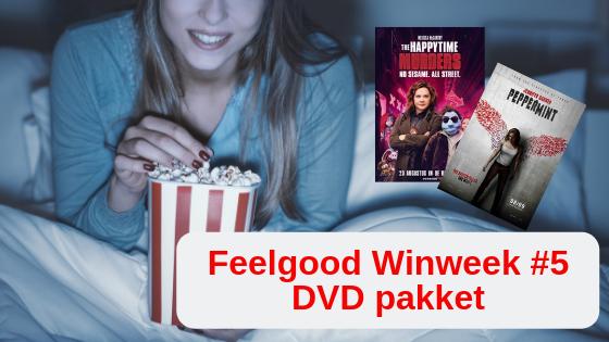 Feelgood Winweek #5 DVD pakket Happytime Murders Peppermint