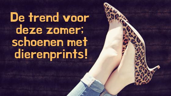 De trend voor deze zomer; schoenen met dierenprints!