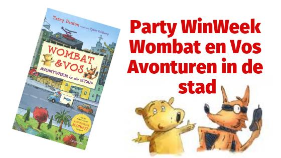 Party WinWeek   Wombat en Vos - Avonturen in de stad