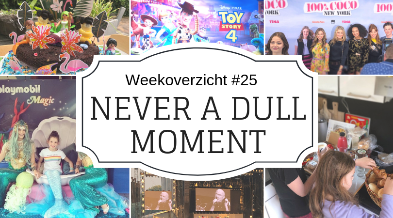 Never a dull moment week 25 - druk, drukker, drukst