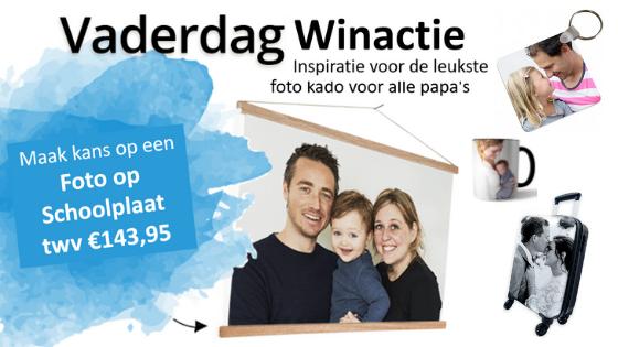 Vaderdag Winactie | Inspiratie voor de leukste foto kado voor alle papa's