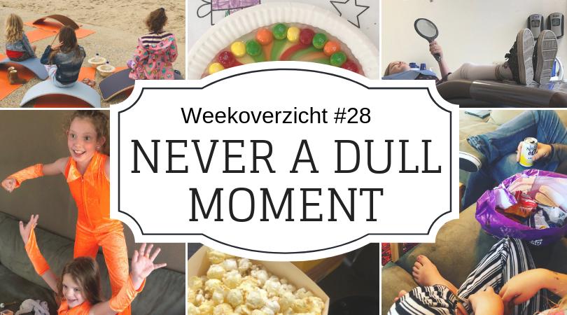 Weekoverzicht   Never a dull moment week 28