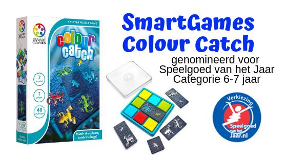 Winactie | SmartGames Colour Catch - genomineerd voor speelgoed van het jaar
