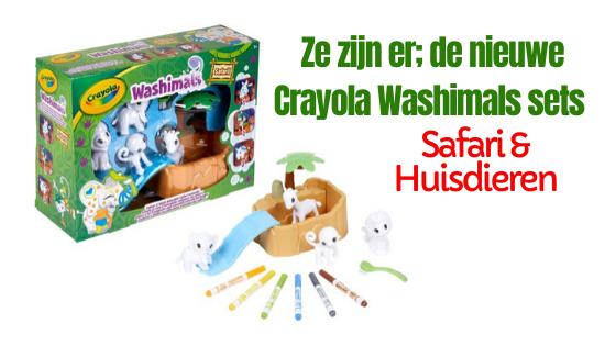 Crayola Washimals Safari en Huisdieren