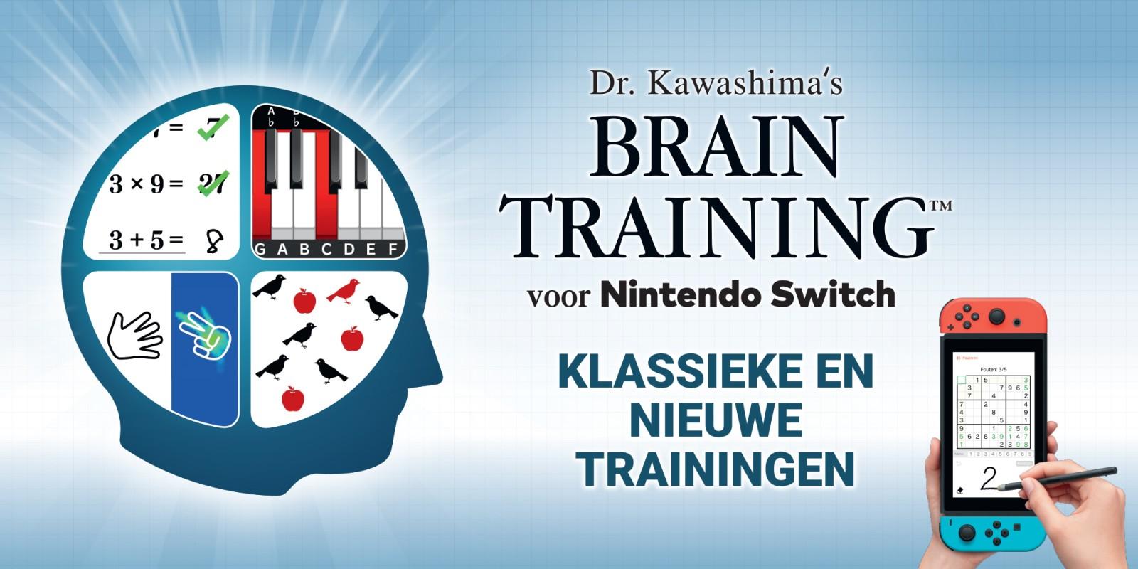 Je dagelijkse portie Braintraining met Dr. Kawashima