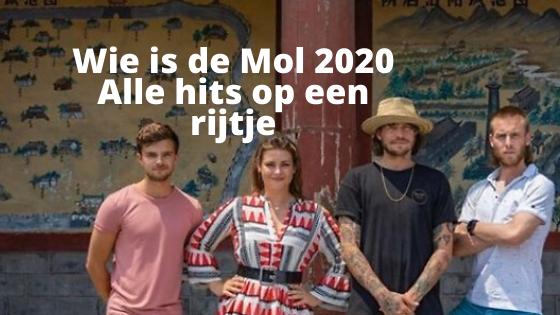 Wie is de Mol 2020 finale