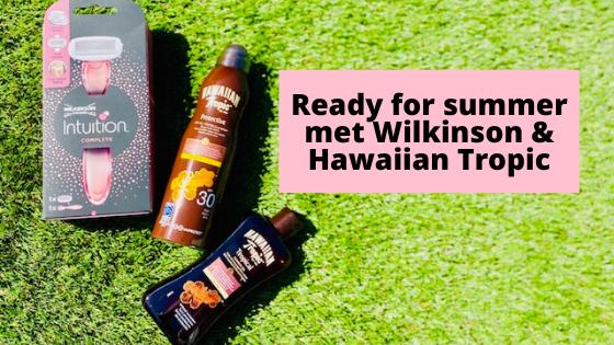 Ready for summer met Wilkinson & Hawaiian Tropic