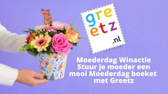 Moederdag Winactie | Stuur je moeder een mooi Moederdag boeket met Greetz