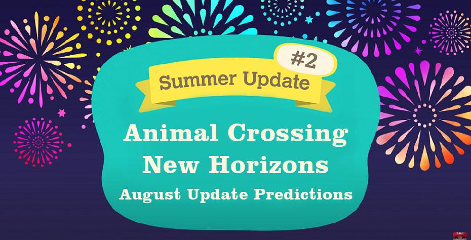 Animal Crossing: New Horizons! - zomerupdate