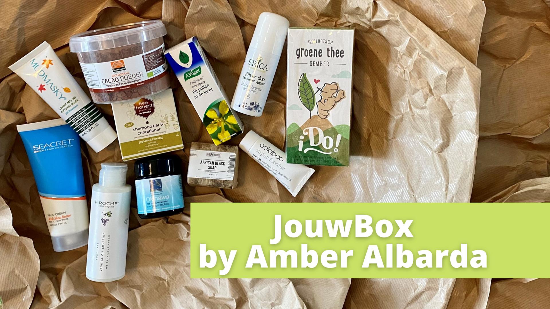 Bereid jezelf voor op herfst met de JouwBox by Amber Albarda