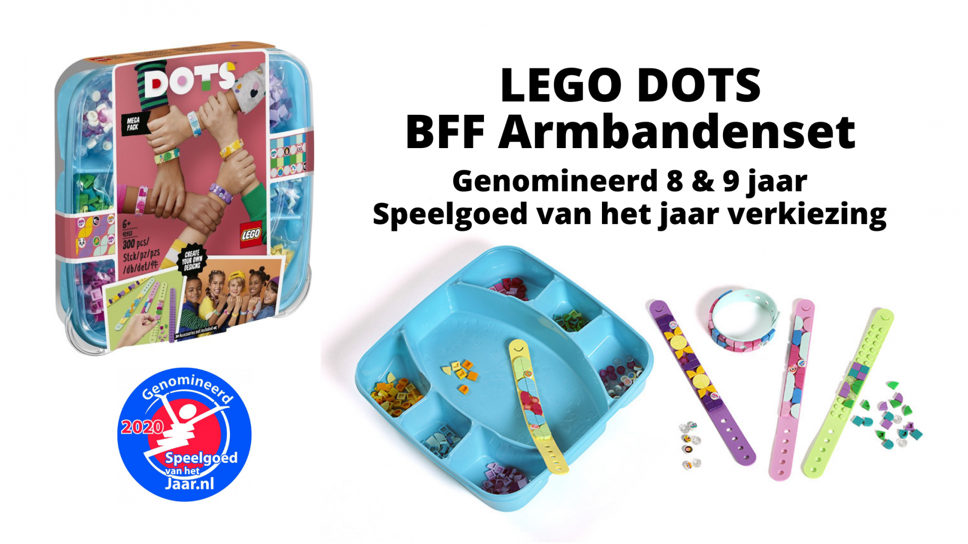 Speelgoed van het jaar verkiezing   LEGO DOTS BFF Armbandenset