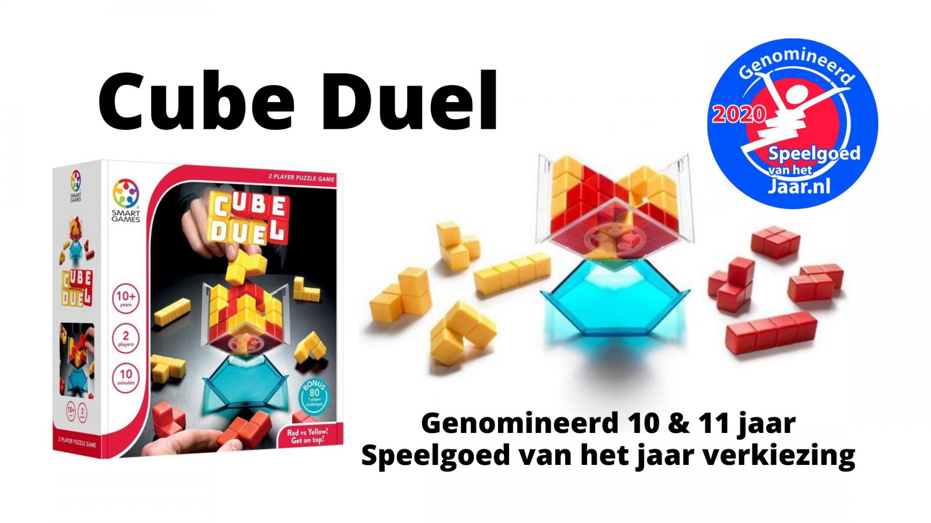 Verkiezing Speelgoed van het Jaar | Cube Duel