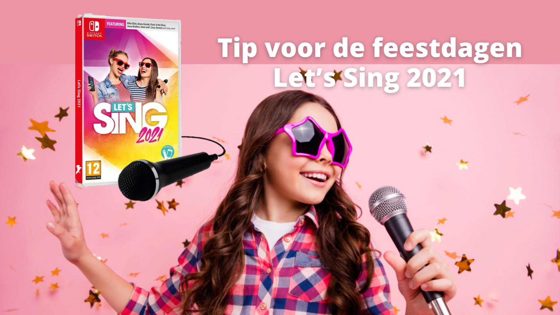 Tip voor de feestdagen | Let's Sing 2021