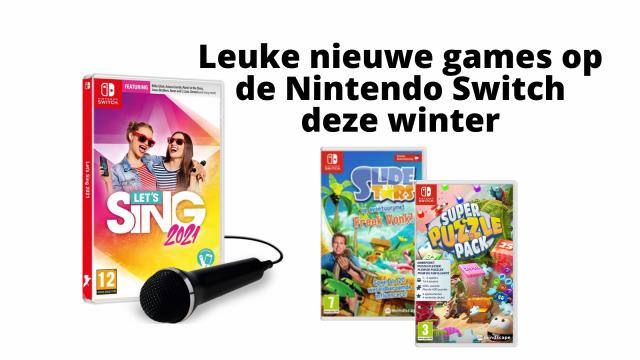 Leuke nieuwe games op de Nintendo Swicth deze winter