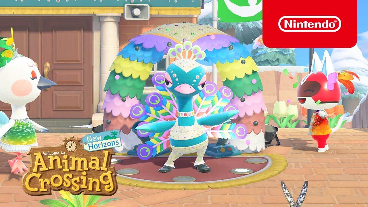 Animal Crossing New Horizons Carnaval Update