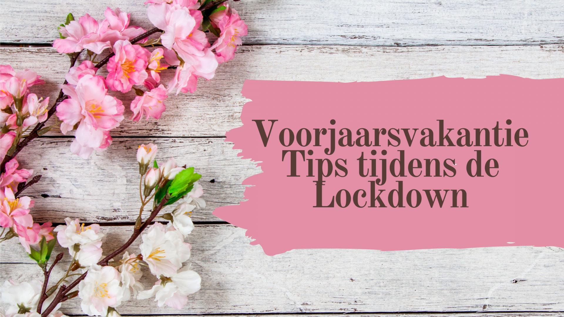 Voorjaarvakantie tips tijdens de lockdown