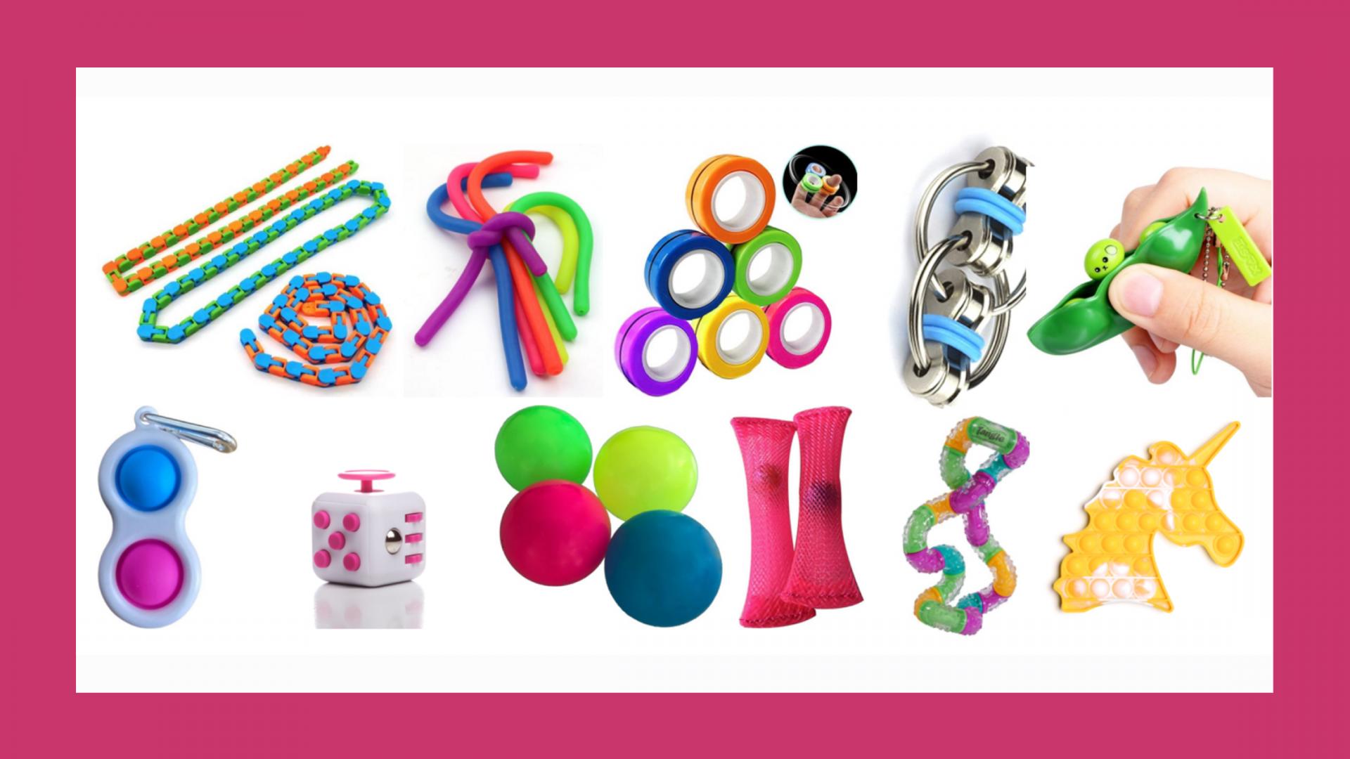 Fidget toys - wat zijn dat eigenlijk?