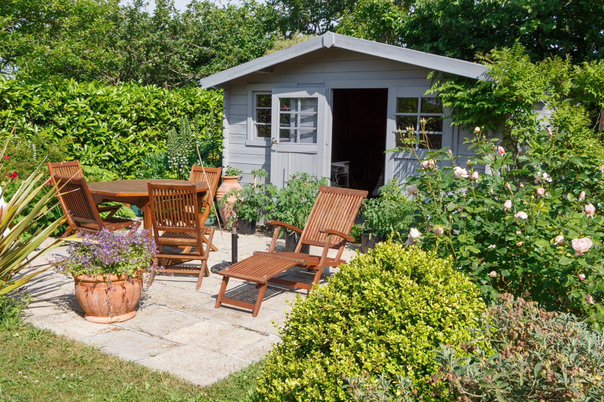 Op deze slimme manieren maak je optimaal gebruik van je tuinhuisje