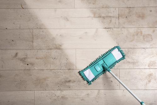 3 tips schoonmaken vloer