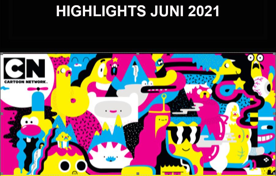 Catoon Network juni 2021