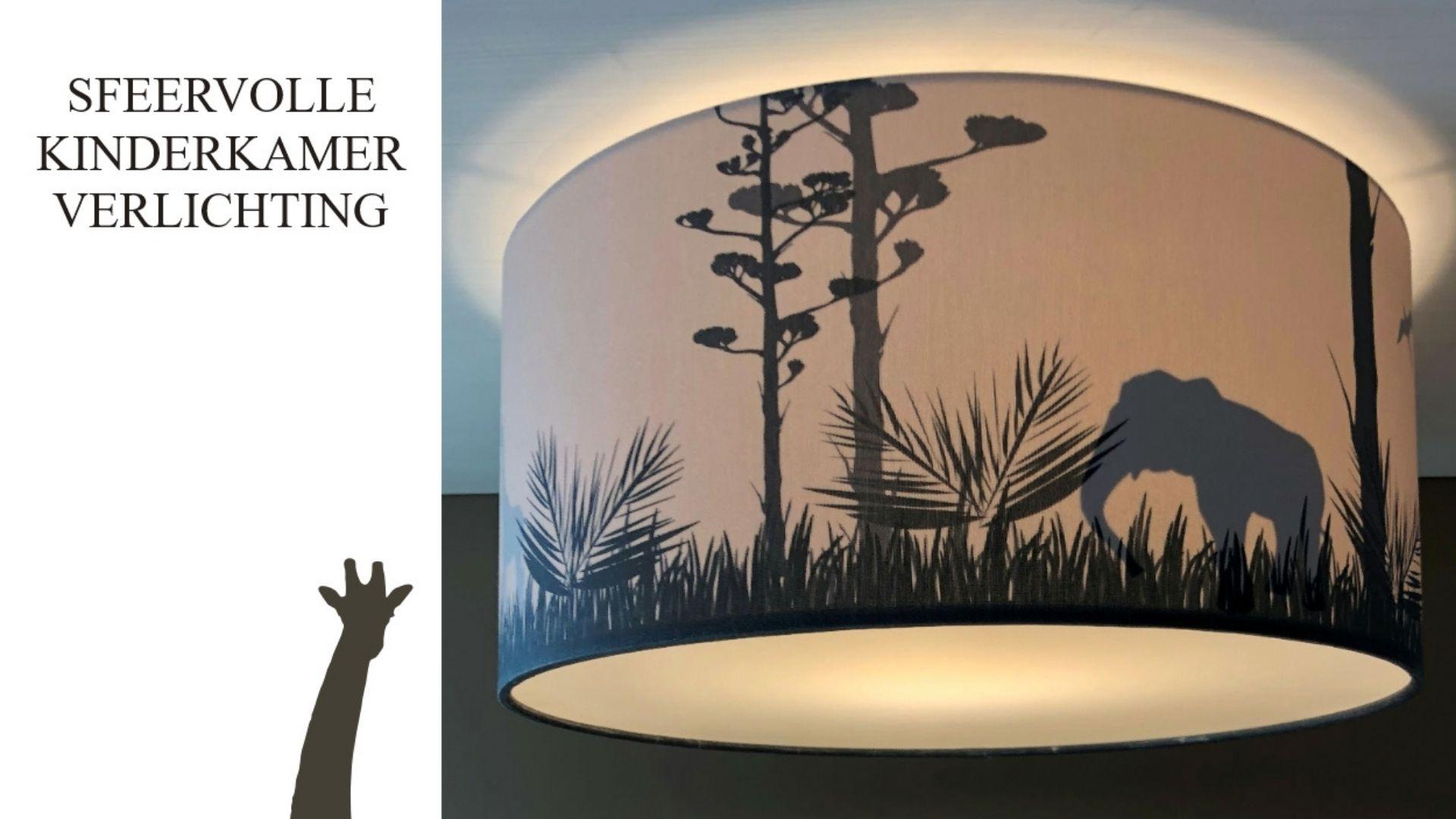 Safari plafondlamp Dreumes Enzo