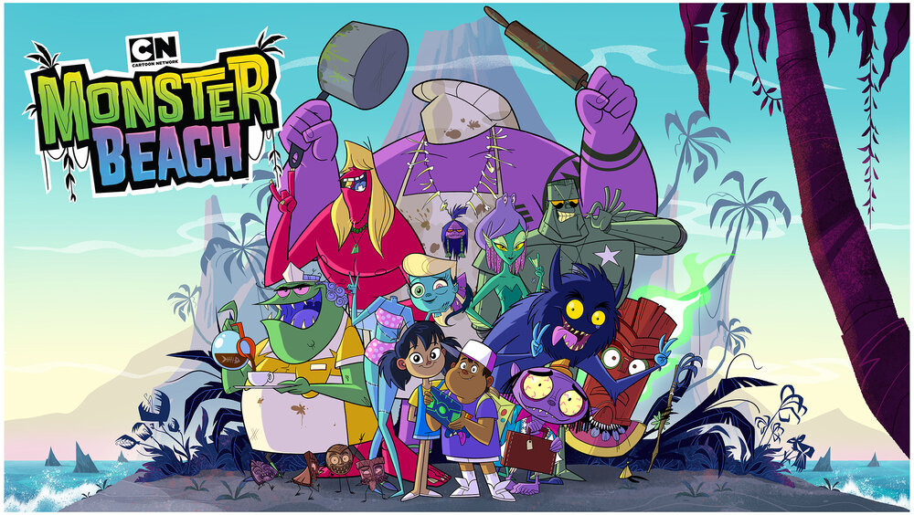 Premiere Cartoon Network Monster Beach
