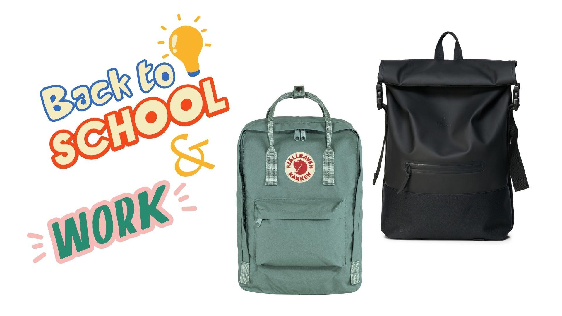 Back to school rugzak