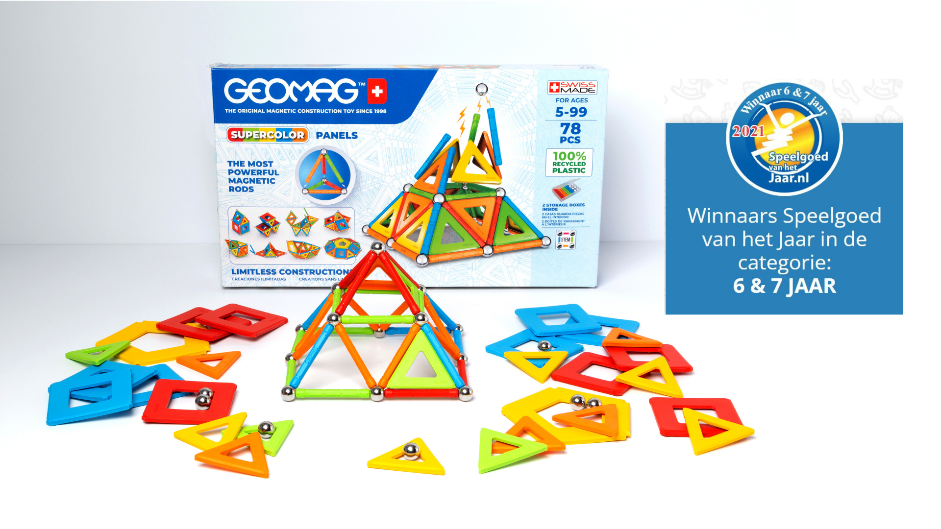 Geomag Super Color Recycled